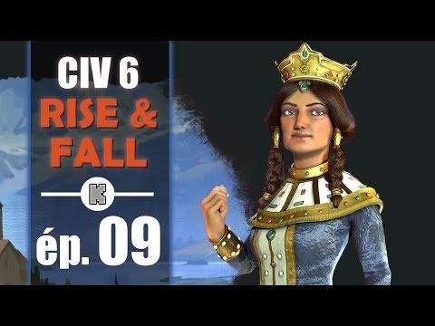 [FR] Civilization 6 RISE AND FALL Géorgie let's play ép 9