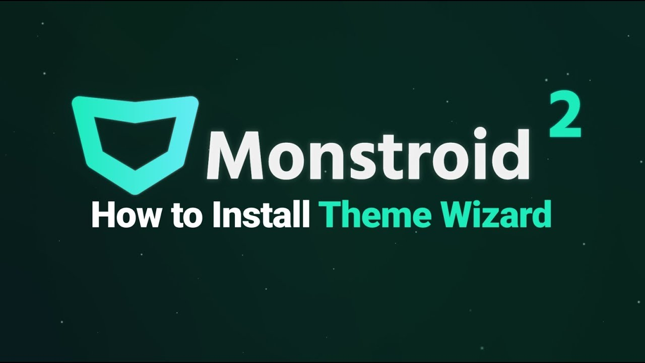 Monstroid2 Theme Wizard Setup Guide