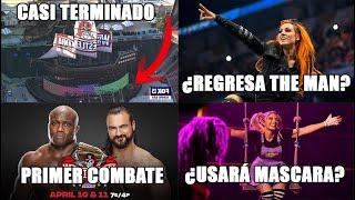 Regresa Becky Lynch en WrestleMania Drew vs Bobby abren la noche 1 Alexa con Máscara y más