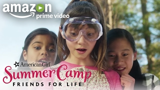 An American Girl Story: Summer Camp, Friends for Life (Official Trailer)   Prime Video Kids
