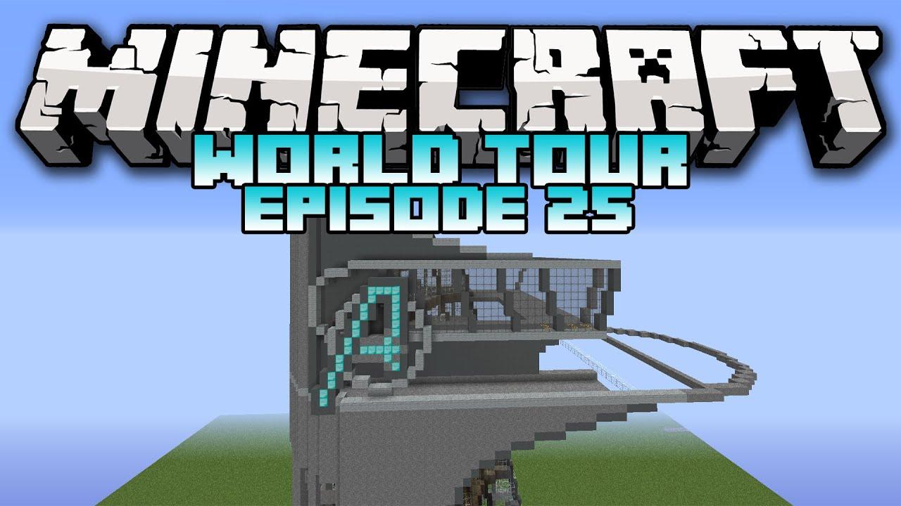 Minecraft World Tour Series Episode 25 Avengers Tower