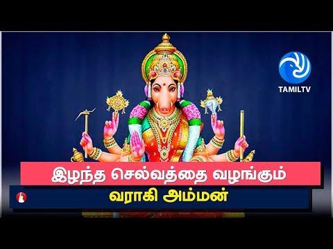 Varahi Amman   இழந்த செல்வத்தை வழங்கும் வராகி அம்மன் - Tamil TV
