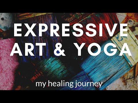 Expressive Art and Yoga | My Mindful Art Healing Journey