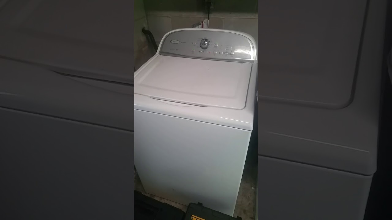 Whirlpool Cabrio Washer Loud Noise