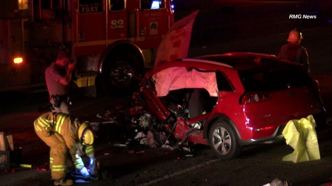 2 killed, including wrong-way driver, on 210 Fwy in La Canada Flintridge I  ABC7