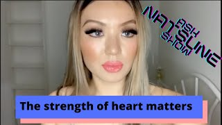 #AskNatsuneShow Everything starts and end with strength of heart
