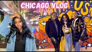 Days in my life vlog | Showing my friend around chicago