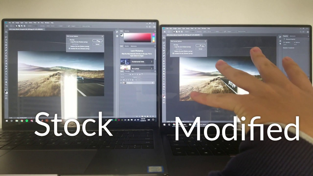 Eliminating MateBook X Pro Throttling - Brad's Hacks