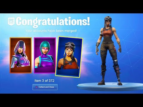 How To MERGE ACCOUNTS In Fortnite Chapter 2! MERGE ANY ACCOUNT! - Fortnite MERGING System!