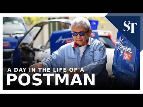 A Day In The Life Of A Postman