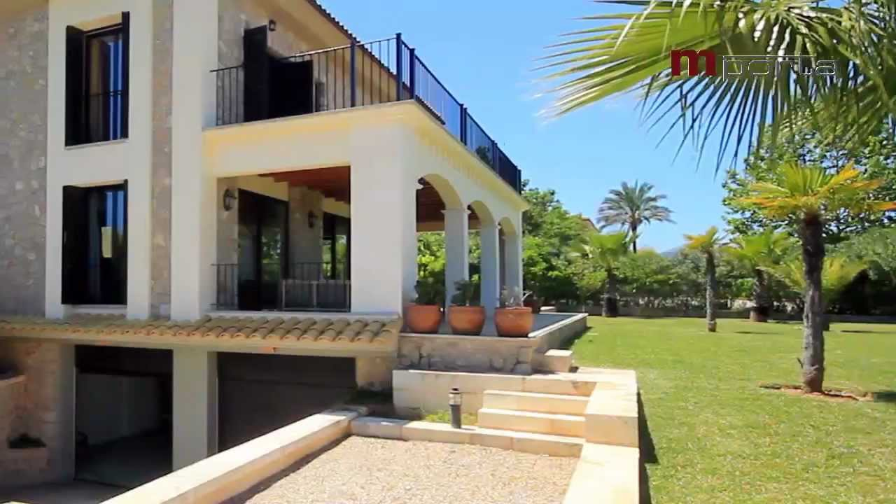 Mallorca Immobilien   Luxus Finca Mit Pool   5 Schlafzimmer   Traumhafter  Blick In Alcudia
