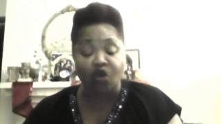 "I am a Proud Black Woman Wrtten by Alice Loren Snow "" Spoken Word """
