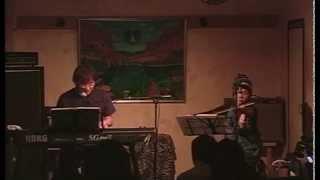 早川義夫+HONZI 国立地球屋2007年5月12日 撮影 渡辺一仁.