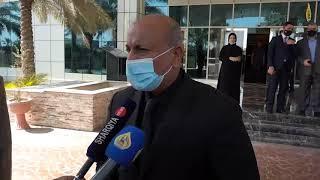 الخطابي يوضح ما تم مناقشتة خلال المؤتمر الذي عقدة اللجنة العليا لادارة زيارةاربعينية الامام الحسين ع