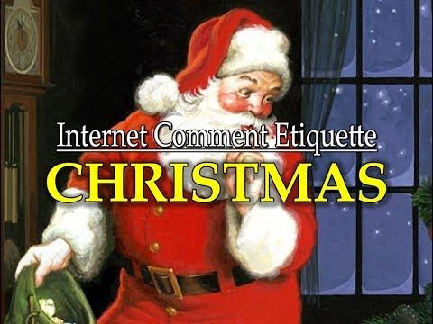 """Internet Comment Etiquette: """"Christmas!"""""""