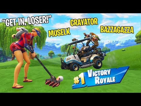 Golf Carts with the Squad ft. Crayator, Bazza & Muselk