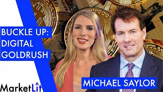 "Michael Saylor: Bitcoin bull reveals why the ""digital goldrush"" is coming!"