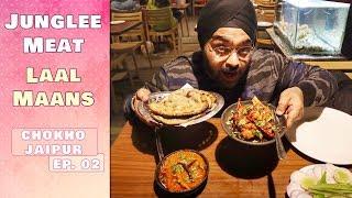 Eating Junglee Meat | Bhooka Saand | Jaipur Food