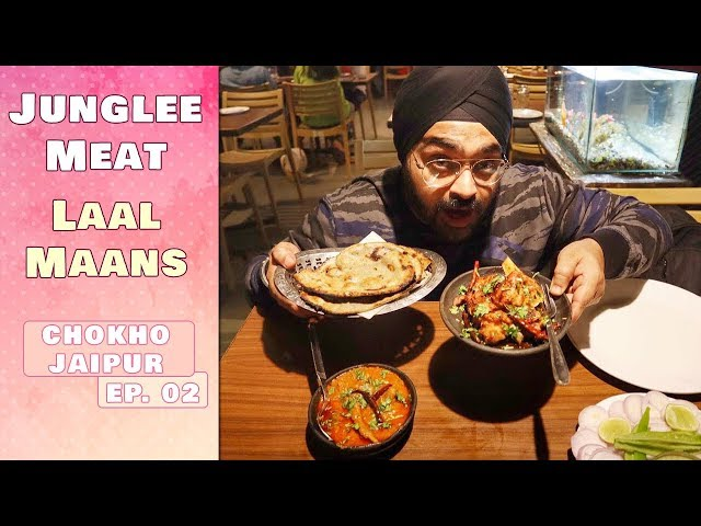 Eating Junglee Meat | Bhooka Saand | Jaipur Food