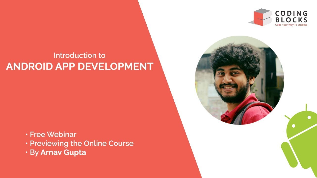 Learn Android App Development | Live Online Course at Coding Blocks