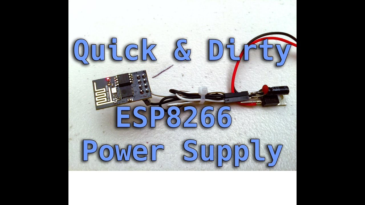 Esp8266 power supply