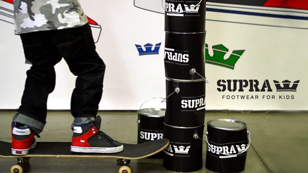 fa6810a315d4 SUPRA Footwear For Kids - YouTube