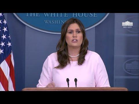 4/23/18: White House Press Briefing