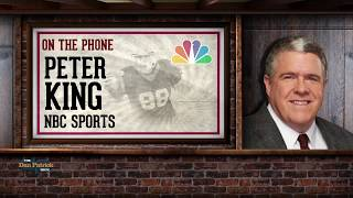Peter King Talks Giants Drama, NFL Rules, Cowboys & More w/Dan Patrick | Full Interview | 10/11/18