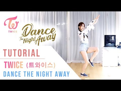 TWICE - Dance the Night Away Tutorial (Mirrored) | Ellen and Brian