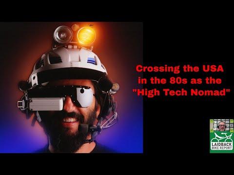 """It's 1983"" High Tech Bent Riding Nomad Steve Roberts-Laidback Bike Report"