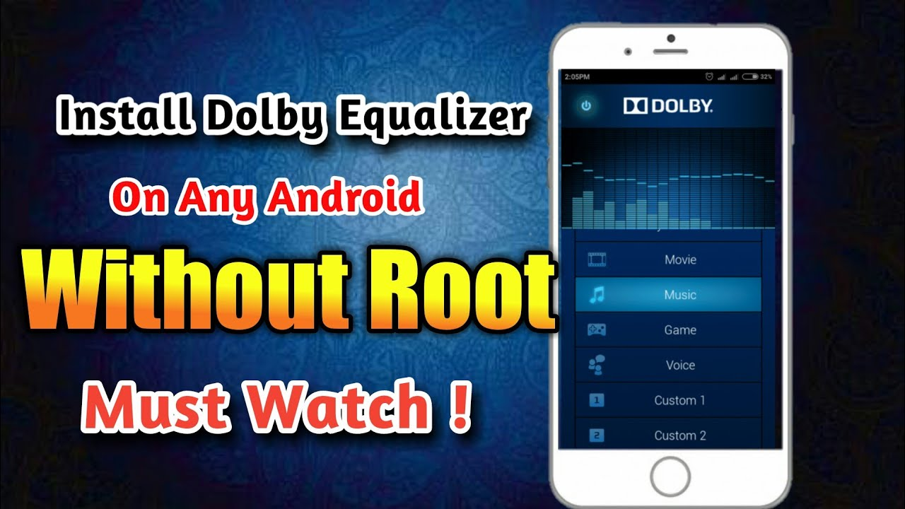 Atmos Equalizer   On Any Android   Without Root   get Dolby Equalizer    Music   Tips   Tricks  Hindi