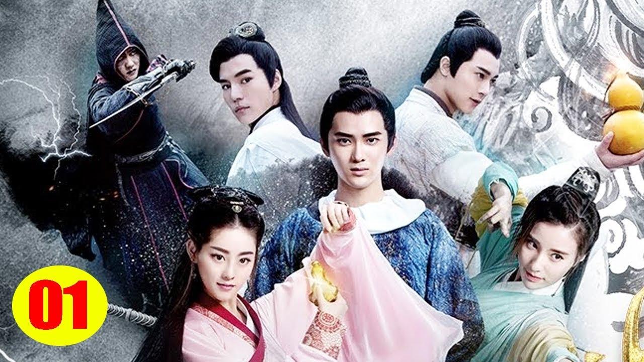 หนังใหม่    พู่กันเทพสยบมาร - ตอนที่ 1   ละครจีน  - ซับไทย