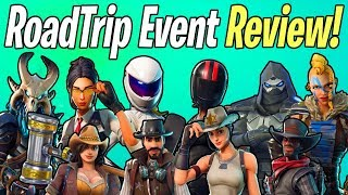 ROAD TRIP EVENT REVIEW! All Heroes, Weapons, & Content! | Fortnite Save The World