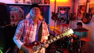 """Cold Day In Hell"" Instrumental-Cover with my Axe FX II and Les Paul..."