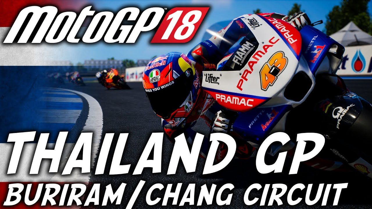 motogp 18 thailand gp thailand gameplay xbox one x. Black Bedroom Furniture Sets. Home Design Ideas