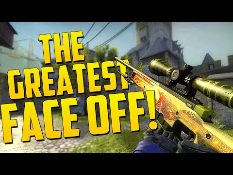 THE GREAT FACE OFF! - CS GO Funny Moments