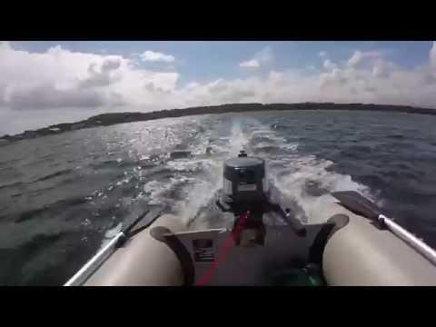[GOPRO] Yamaha 4 Hp On YAM 265S Inflatable Rib Boat