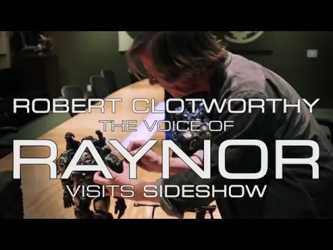 Voice of Raynor from Starcraft II  Robert Clotworthy!