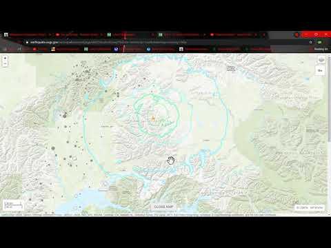 6.1 Earthquake Alaska.. 2.7 Earthquake Shortly afterwards in Los Angeles area.. 5/31/2021