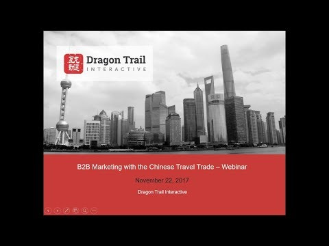 B2B Marketing with the Chinese Travel Trade