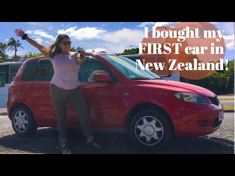 I Bought A Used Car In New Zealand 😲How & Tips - Moving To New Zealand