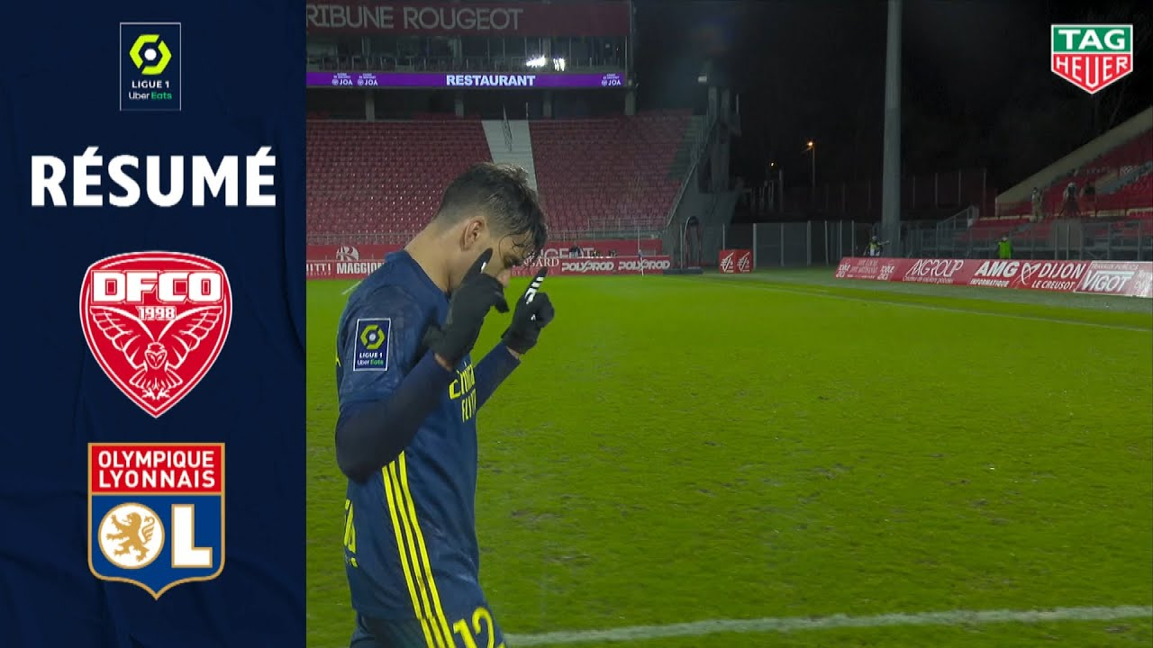 DIJON FCO - OLYMPIQUE LYONNAIS (0 - 1) - Résumé - (DFCO - OL) / 2020-2021 - Ligue 1 Uber Eats