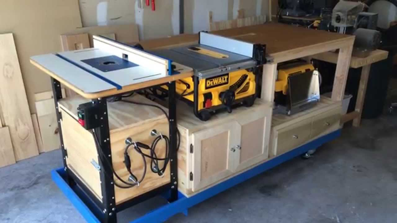 Mobile Workbench - YouTube