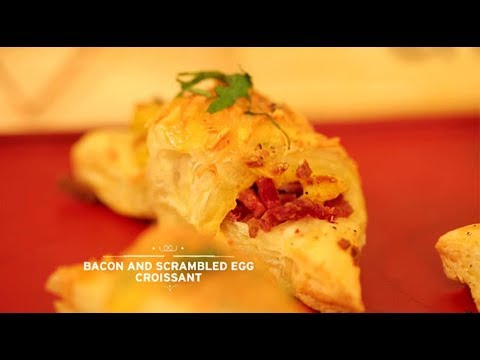 Chef's Table - Bacon & Scrambled Egg Croissant