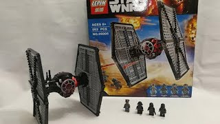 LEGO 75101 LEPIN 05005 STAR WARS FIRST ORDER SPECIAL FORCES TIE FIGHTER
