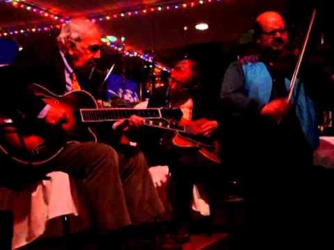 Michele Ramo with Bucky Pizzarelli, Wayne Wright & Jerry Bruno