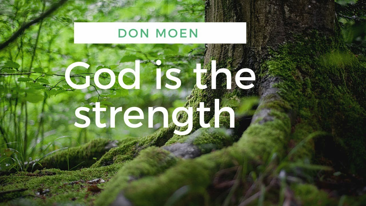 GOD IS THE STRENGTH OF MY HEART DONMOEN  ENGLISH WORSHIP