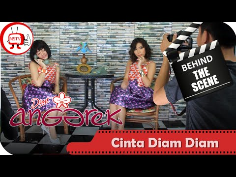 Duo Anggrek - Behind The Scenes Video Klip Cinta Diam Diam - NSTV