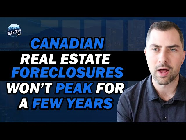 Canadian Real Estate Foreclosures Won't Peak for a Few Years