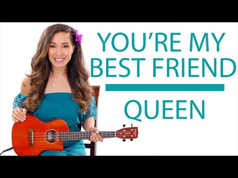 """""""You're My Best Friend"""" by Queen - Ukulele Tutorial/Lesson"""
